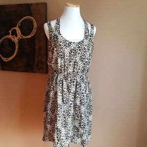 Love on a Hanger Sleeveless Animal Print Dress